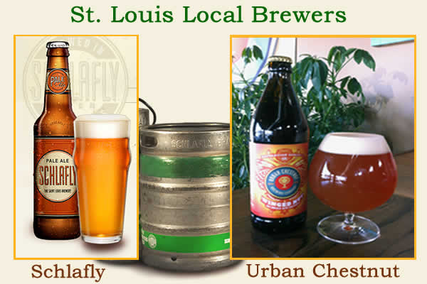 st louis brewers Olive Street Cafe
